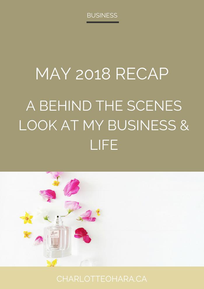 Charlotte O'Hara May 2018 recap