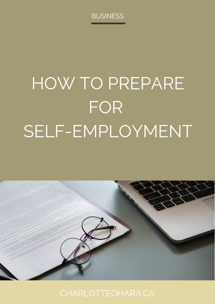 How to prepare for self-employment | freelance web design | freelance web dev