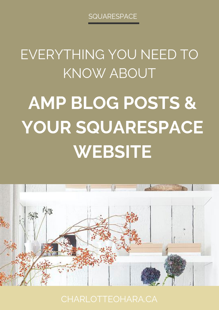 AMP blog posts and Squarespace website | Squarespace SEO Series