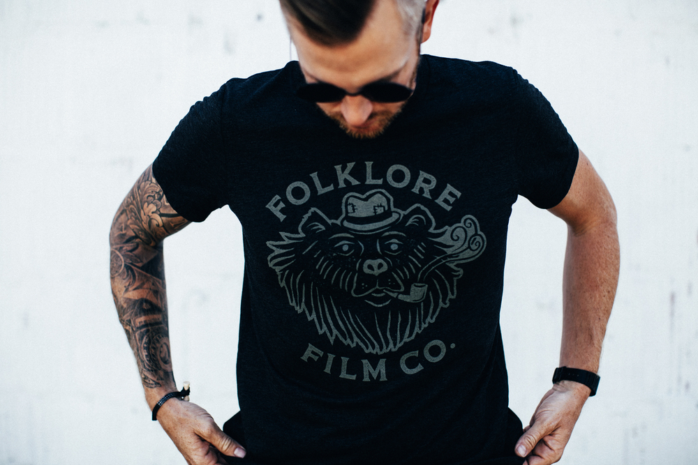 Folklore Bear Tee $20