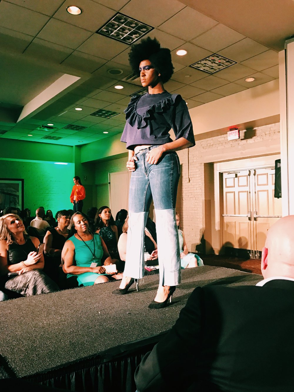 Baton Rouge Fashion Week 2017. Designs by 8.16.