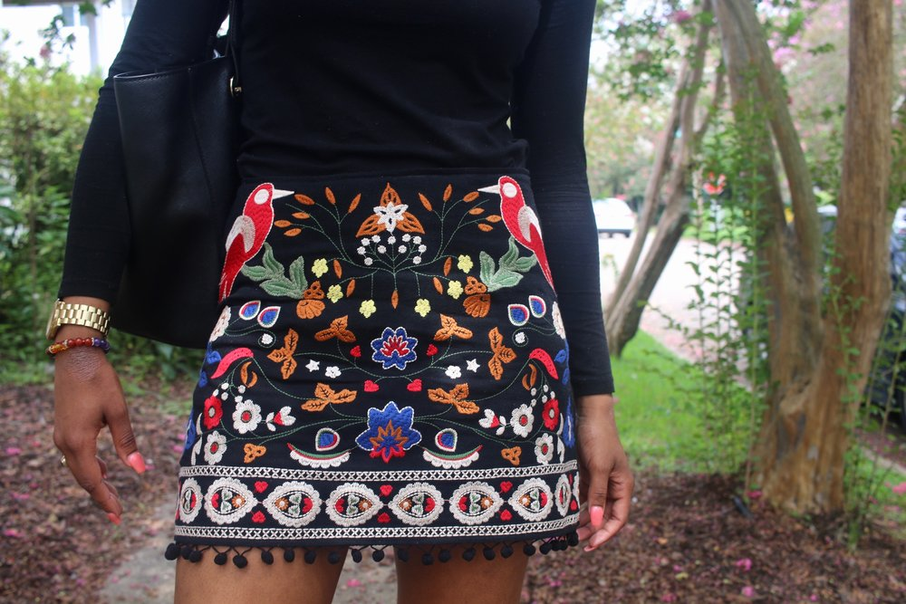 Tell me the little balls at the end of this skirt aren't to die for? *insert crying emoji*