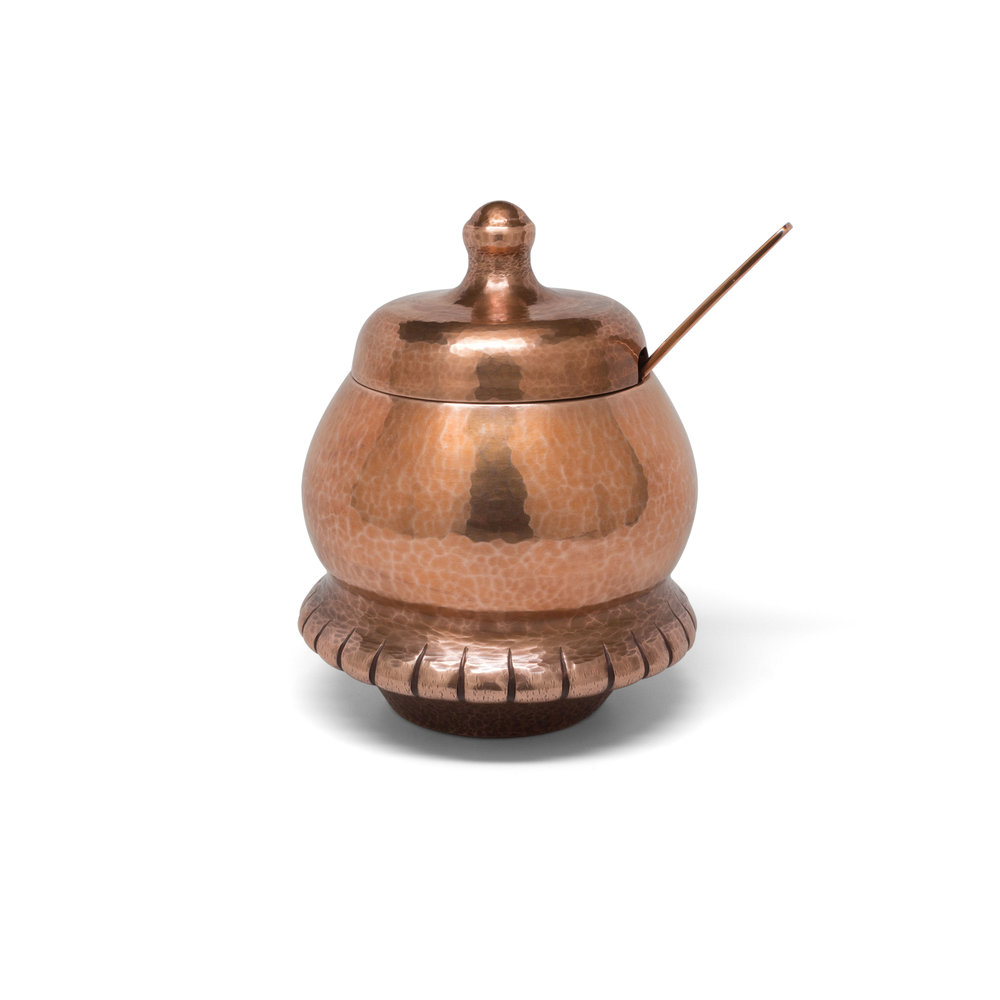 Copper Sugar Dish