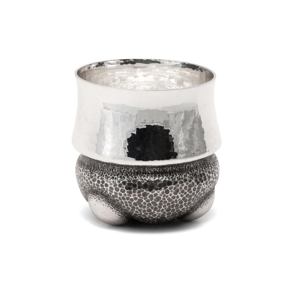 Silver Tripod Cup
