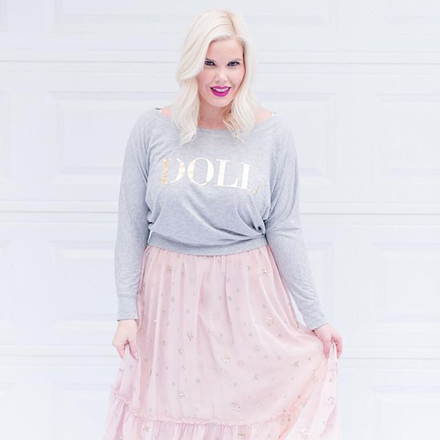 Our Doll Tee is the perfect way to treat yourself to a little something pretty! #theprdolls #dollspartypretty * * * * * #thecarolinedoll #fashioninfused #stylist #fashionpr #creativebizlife #savvybusinessowner #bossbabe #girlboss #lifestyleblogger #fashionblogger #pursuepretty #allthethings #bloggerstyle #bloggerlife #personalstyle #shopsmall #supportsmallbusiness #partyaccessories #homeaccessories #giftsforher #makersgonnamake #mycreativebiz #cylcollective #creativelifehappylife #femaleentrepreneur