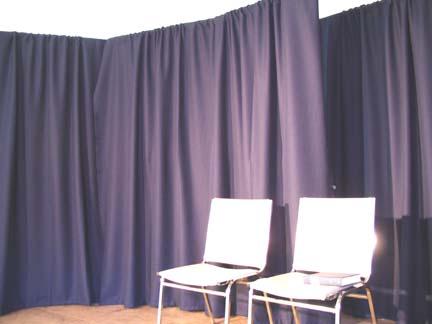 The drapes.