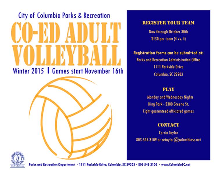 Recreation League Flyer