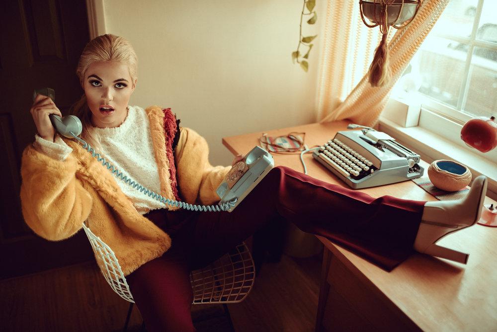 Model: Haley Hudson Stylist: Tawni Tran MUA/Hair: Kyrsta Morehouse
