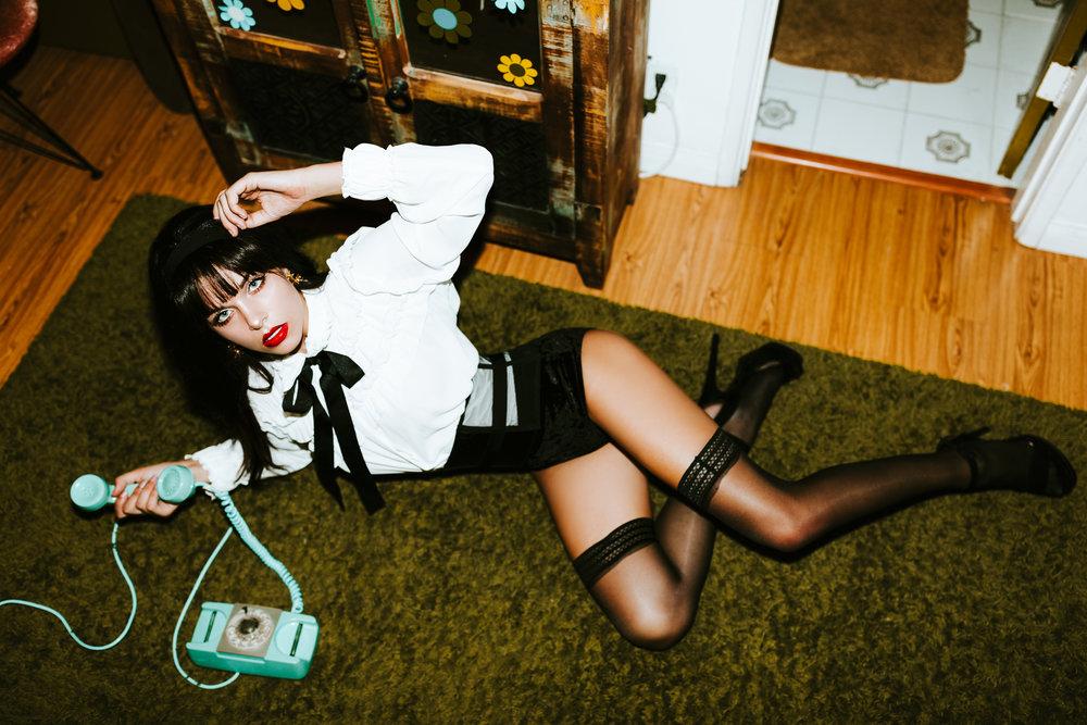 Model: Katya Williges Stylist: Destiny Tran