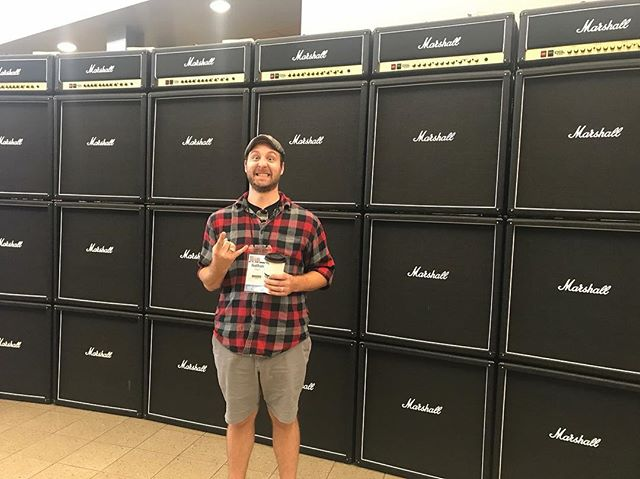 Nate is at #gearfest @sweetwatersound. We are a little jealous.