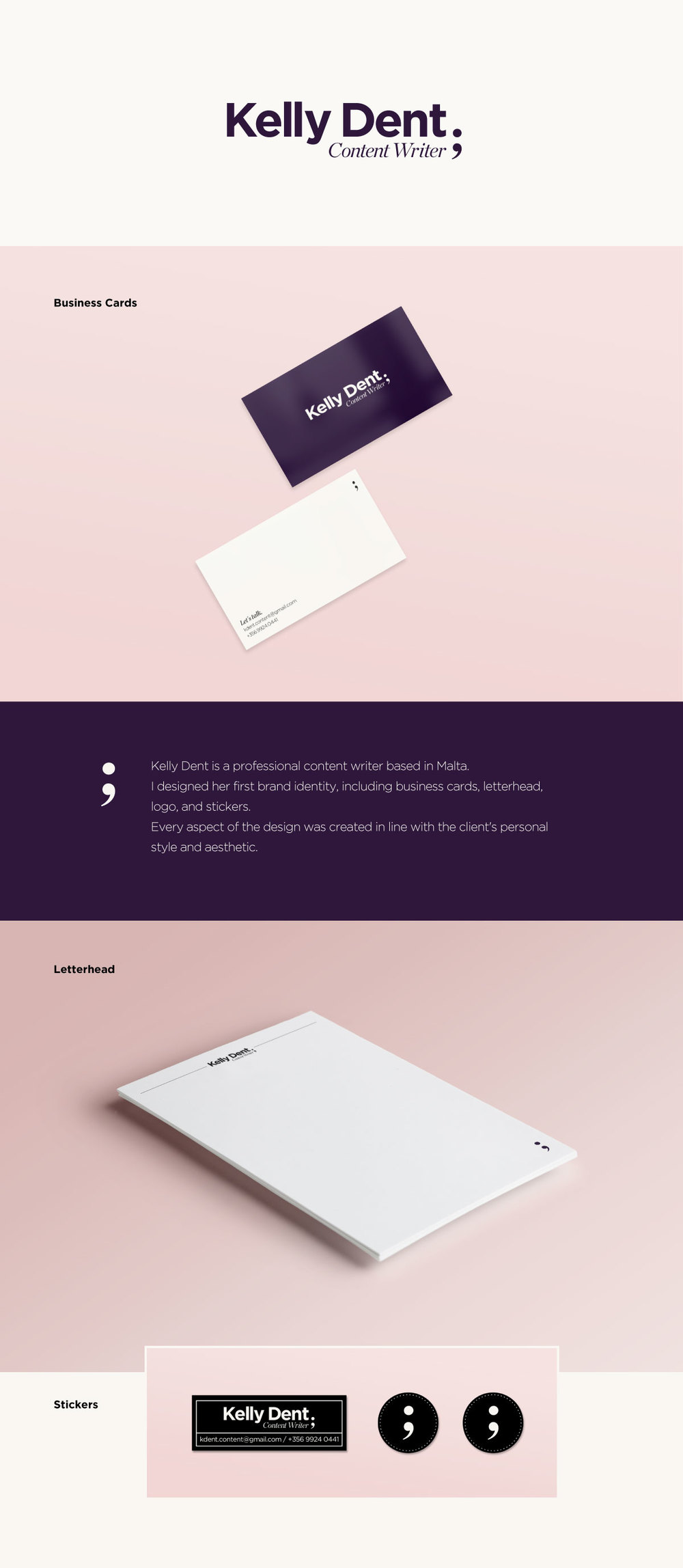 Business Cards — Luz Cubas