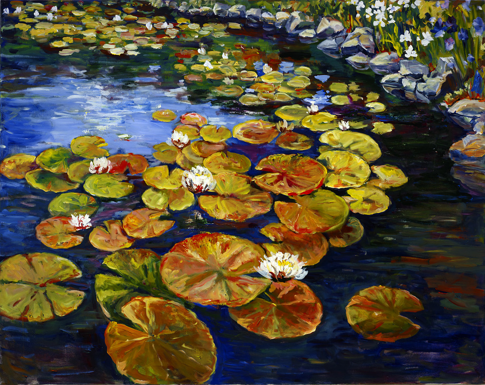 Water Lilies 48 x 60.jpg