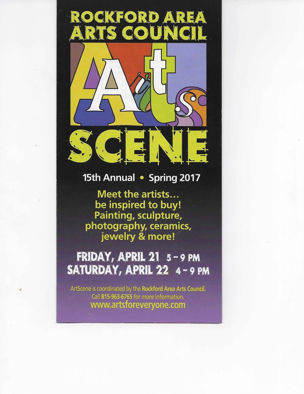 Rockford Area Arts Council Art Scene
