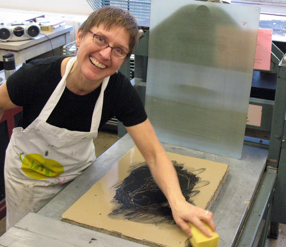 Karen D. Beckwith, Artist, Printmaker, Master Printer