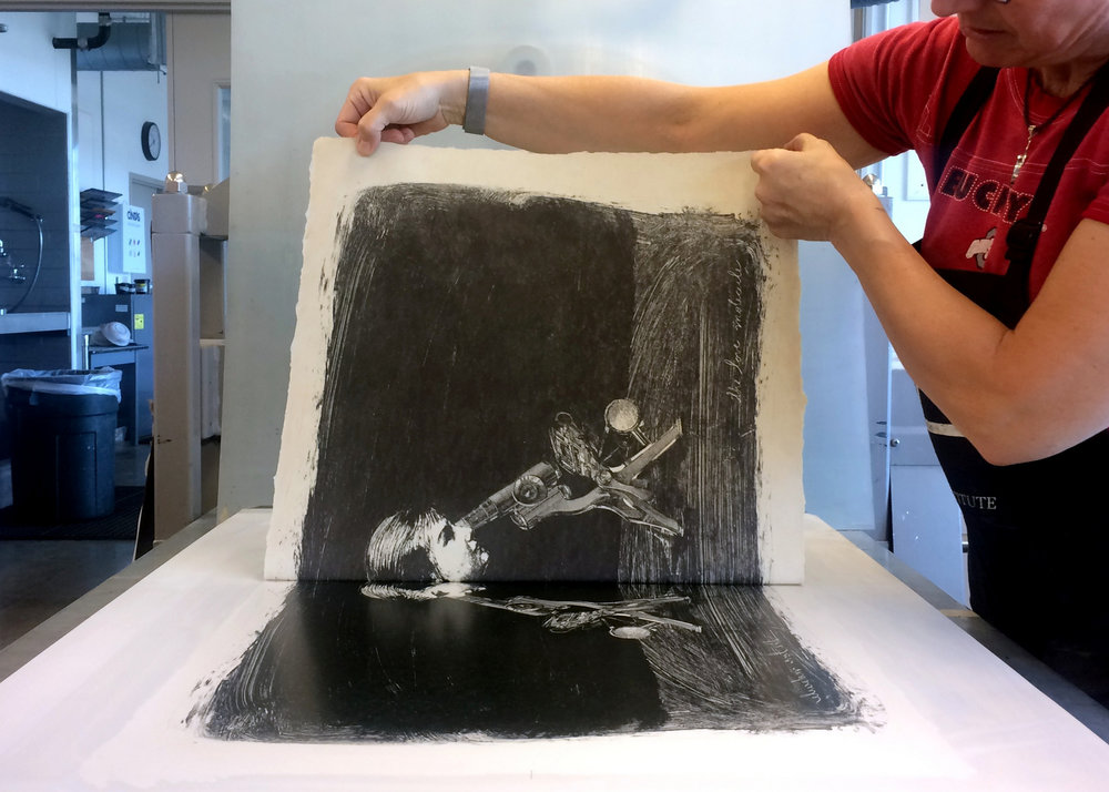 Education, Printmaking