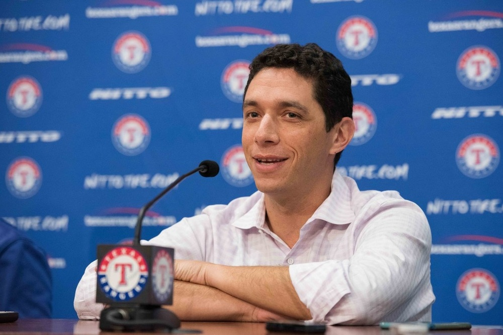 Jon Daniels '99, General Manager of the Texas Rangers