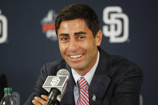 AJ Preller '99, General Manager of the San Diego Padres