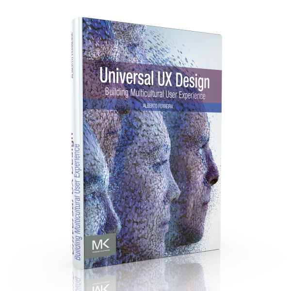 Limited offer - Digital version of Universal UX, the ultimate reference book on UX for international markets, included for FREE with your registration. Only 10 copies available. Don't delay!