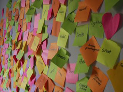 More than wallpaper decoration: learn how to ideate and brainstorm effectively with design teams.