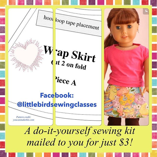 Please share and support my new small business venture! #sewingclasses !!! To get your sewing kit please go to and like my Facebook page! Link in profile #littlebirdsewingclasses #kidscansew #honolulusewingclass #diysewingproject