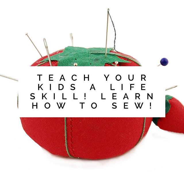 My next sewing class will be, Monday September 11.  Head over to my Facebook page for more info! Link in bio. #kidscansew #littlebirdsewingclasses #lifeskills #sewingmama