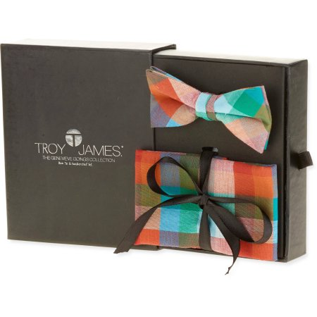 Troy James Check Bow Tie.jpg