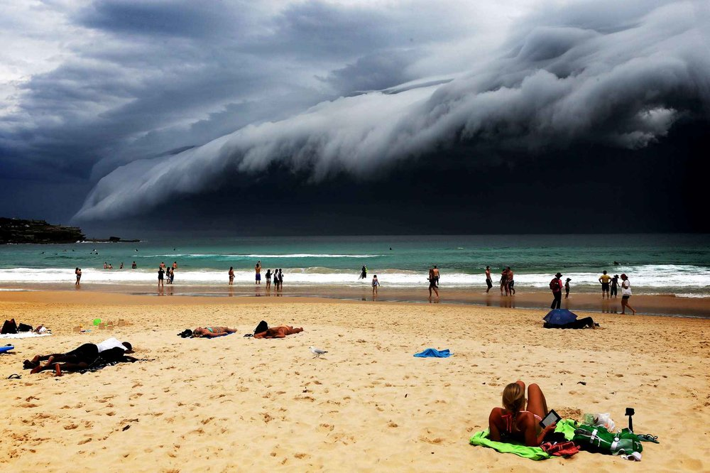 Bondi Beach Photograph by The Telegraph