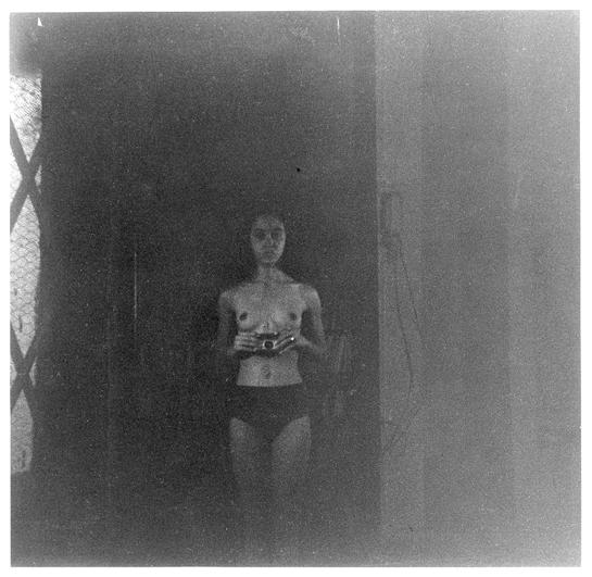 Adrian Piper. Food for Spirit 04, 1971. Silver gelatin print. (Image: Tate Modern)