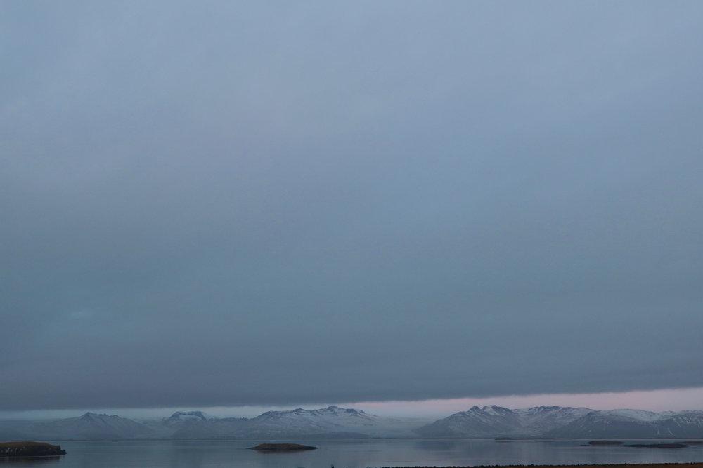Quiet air  Iceland December 2017