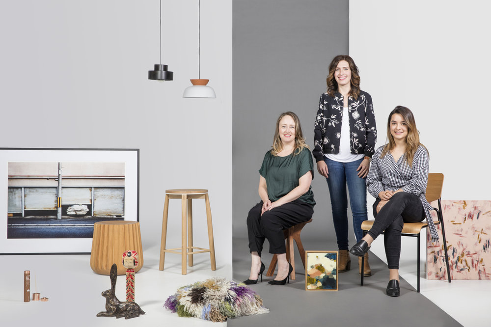 Lauren Li from  Sisalla , Fiona Parry Jones from  Von Haus Design  and Manuela Millan from  Meanwhile in Melbourne
