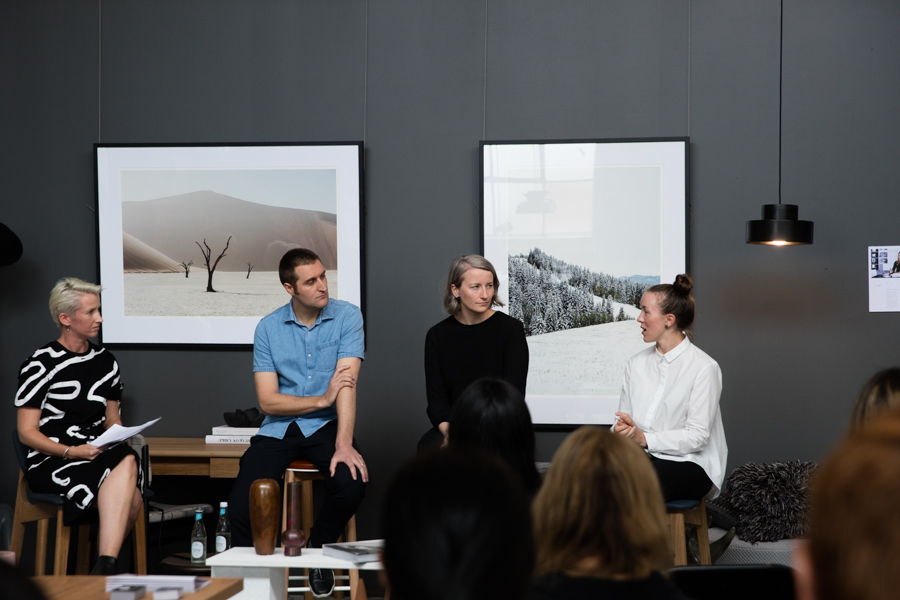 Alice Blackwood  @aliceblackwood from  @indesignlive Anja de Spa from  @molecule_studio Monique Woodward from  @wowowaarch Peter Knights from  @taylorknightsarchitects