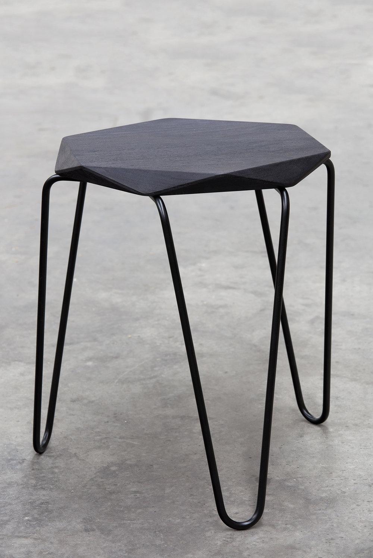 REX stool in timber