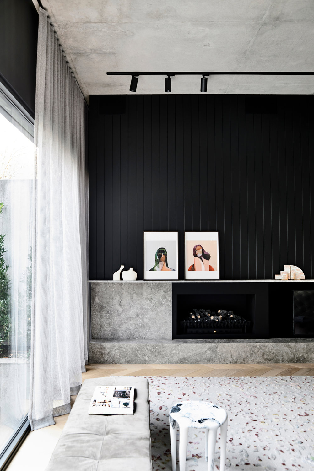 Workroom -Agushi-House-Meanwhile in Melbourne-Architecture interior design Simone Haag