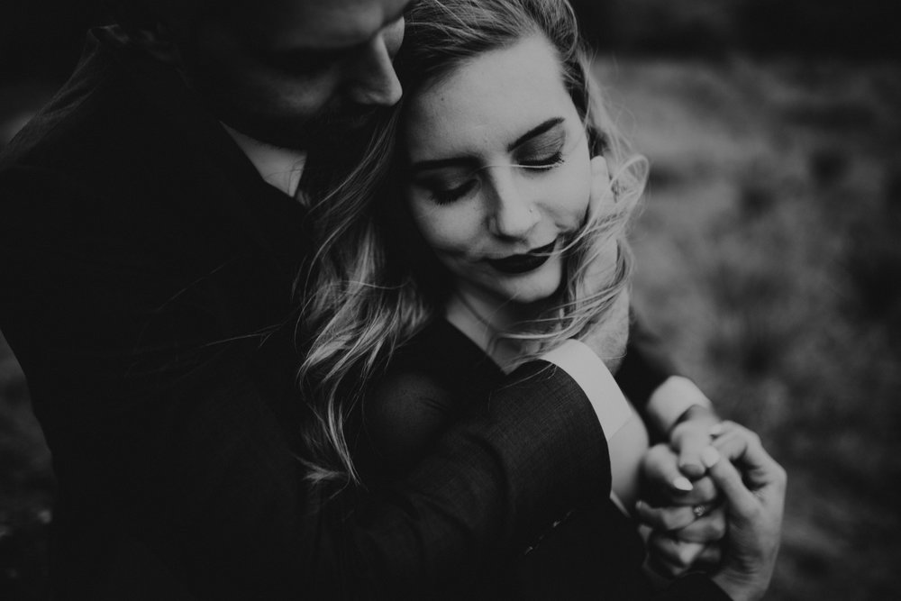 """Nikki & Luke - """"Sara is such a beautiful person. Obviously a talented photographer, too. But she captures genuine emotion and makes the session so enjoyable! We made some of our favorite memories shooting our engagement session with her, and we will forever cherish the beautiful photos she took of us!"""""""