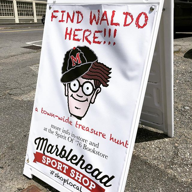 It's July so that means Waldo is in town. We're closed today but will be ready for Waldo seekers tomorrow!