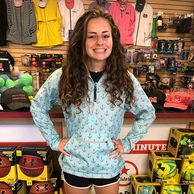 It's quiet down here at the shop, so we're trying on our new gear! Come check out our new bucket hats and jackets! #summer #shoplocal #marblehead