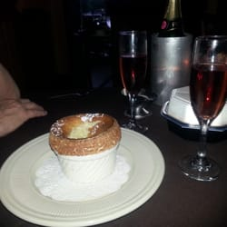 Restaurant:  Ruggeri's Ristorante   Featured Grub: Grand Marnier Souffle