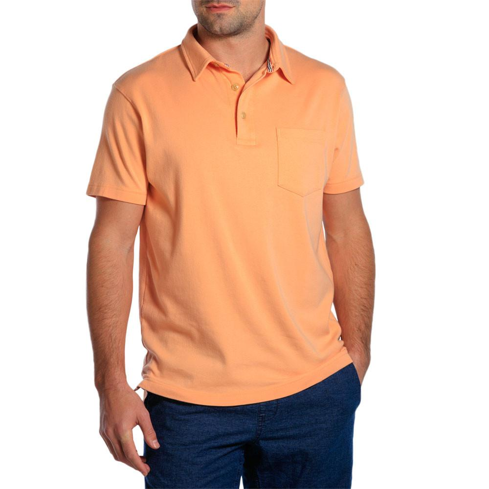 Puremeso Pocket Polo - Dusty Orange