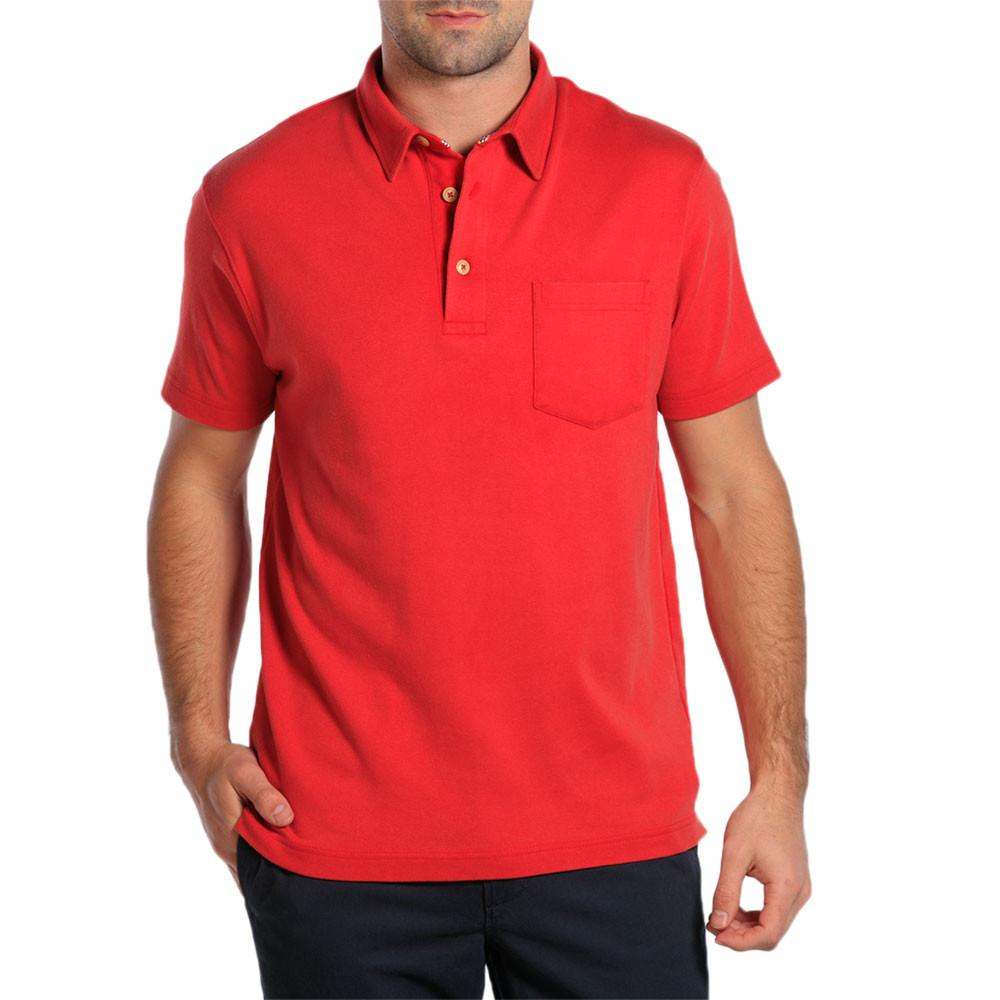 Puremeso Pocket Polo - Pigment Red