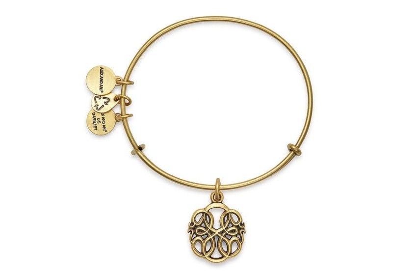 Alex And Ani Path Of Life Bracelet - Gold