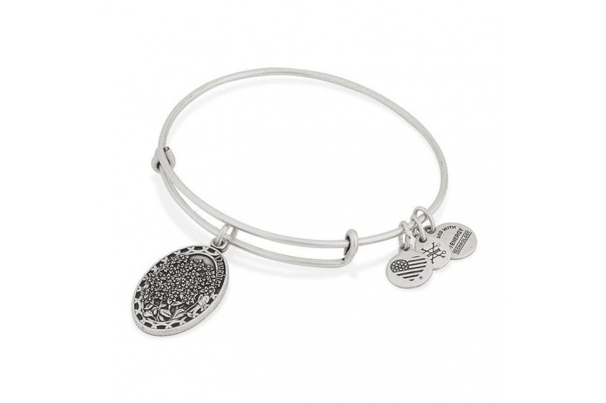 Alex And Ani Because I Love You, Daughter - Silver