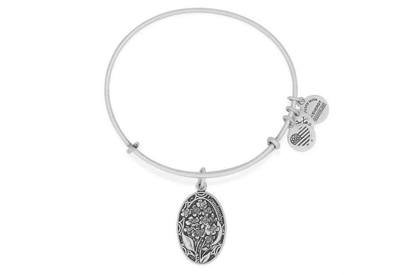 Alex And Ani Because I Love You, Grandmother - Silver