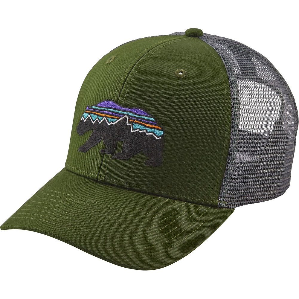 Patagonia Fitz Roy Bear Trucker Hat - $18.85Available sizes: one size