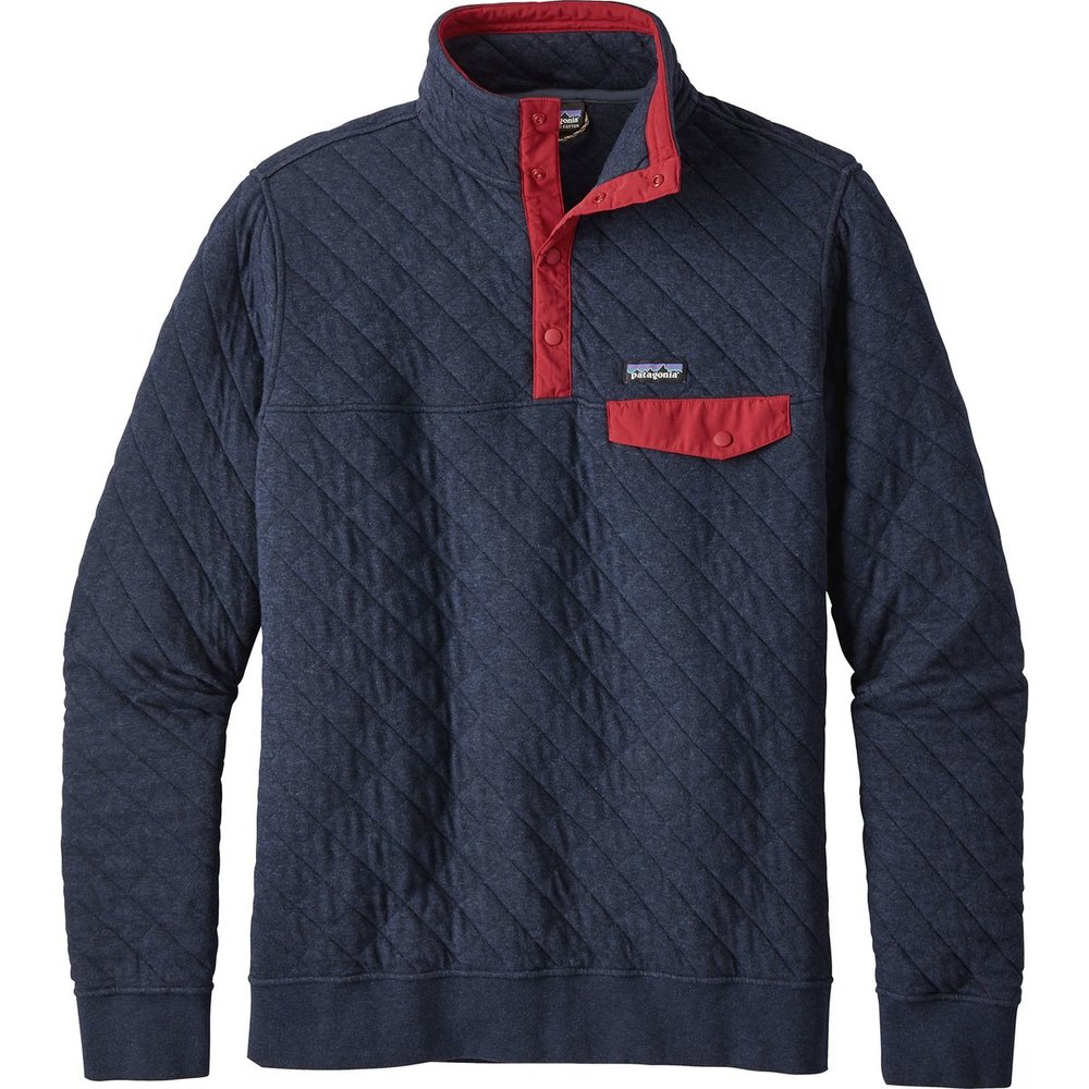 Patagonia Organic Cotton Quilt Snap-T Fleece Pullover - Men's - $104.30Available sizes; S, M, L, XL