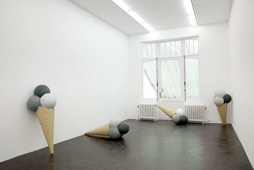 SAD EIS, 2012, installation view. Courtesy of Meesen De Clercq