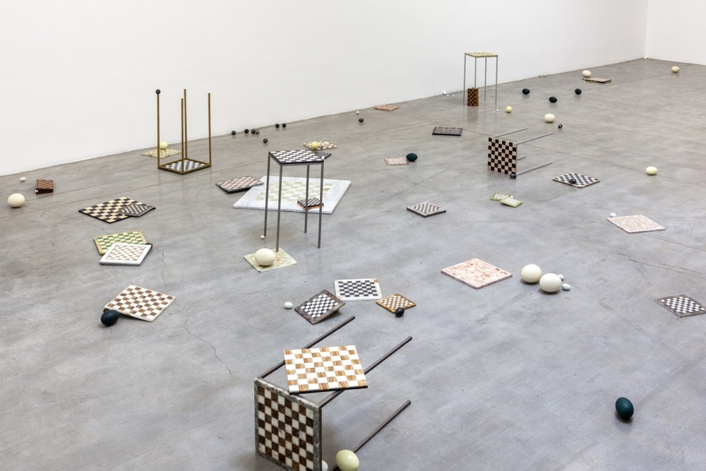 THE ST. PETERSBURG PARADOX , 2014, exhibition view at Swiss Institute. Courtesy of the artist