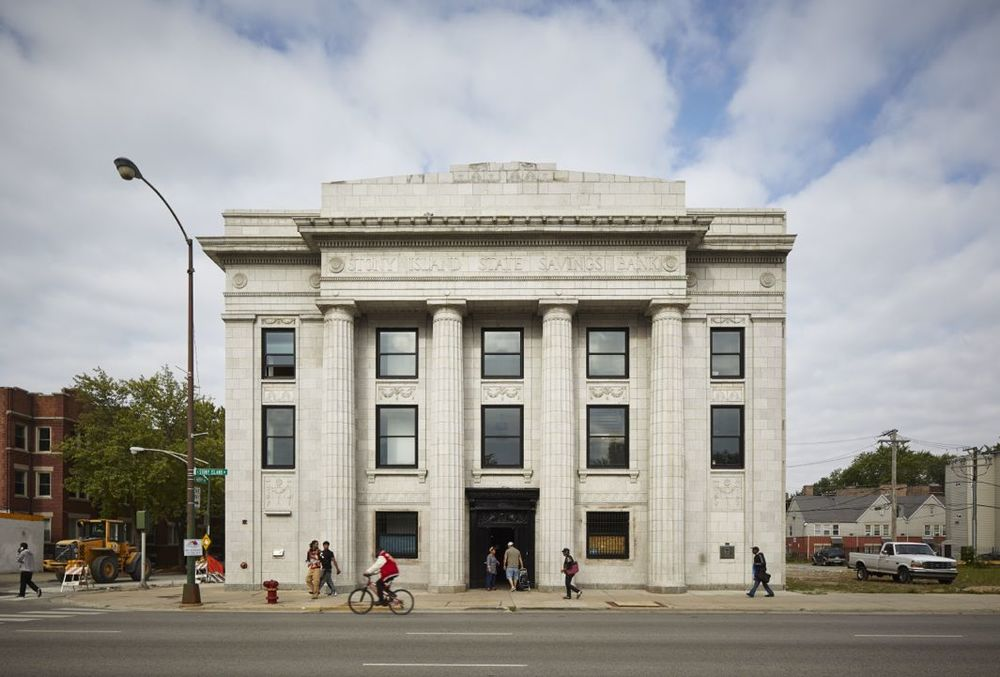 Rebuild Foundation's Stony Island Arts Bank. Courtesy Rebuild Foundation. Photo: Tom Harris © Hedrich Blessing