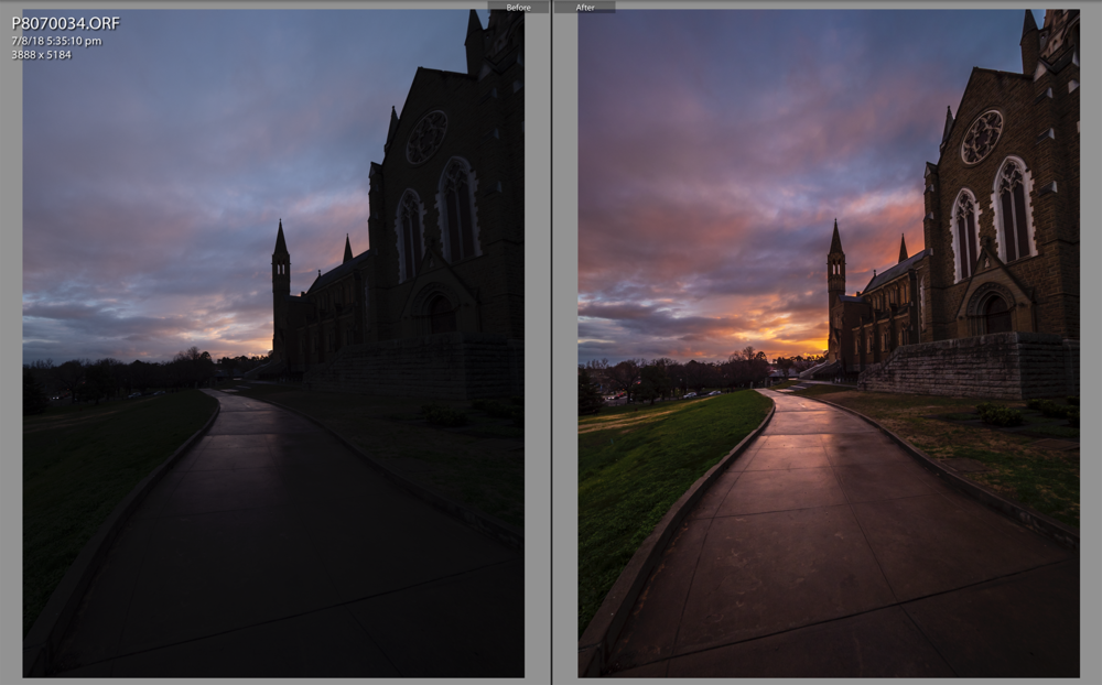 From RAW to final edit in Adobe Lightroom