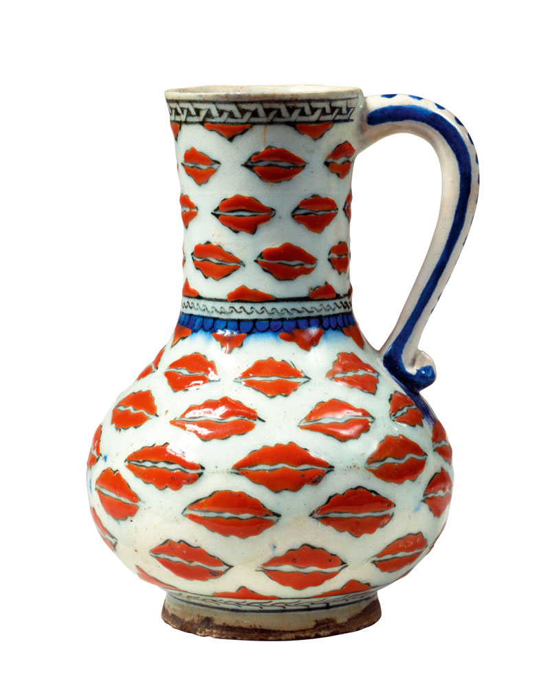 Jug (  c  . 1575), Turkey, Iznik.   David Collection, Copenhagen
