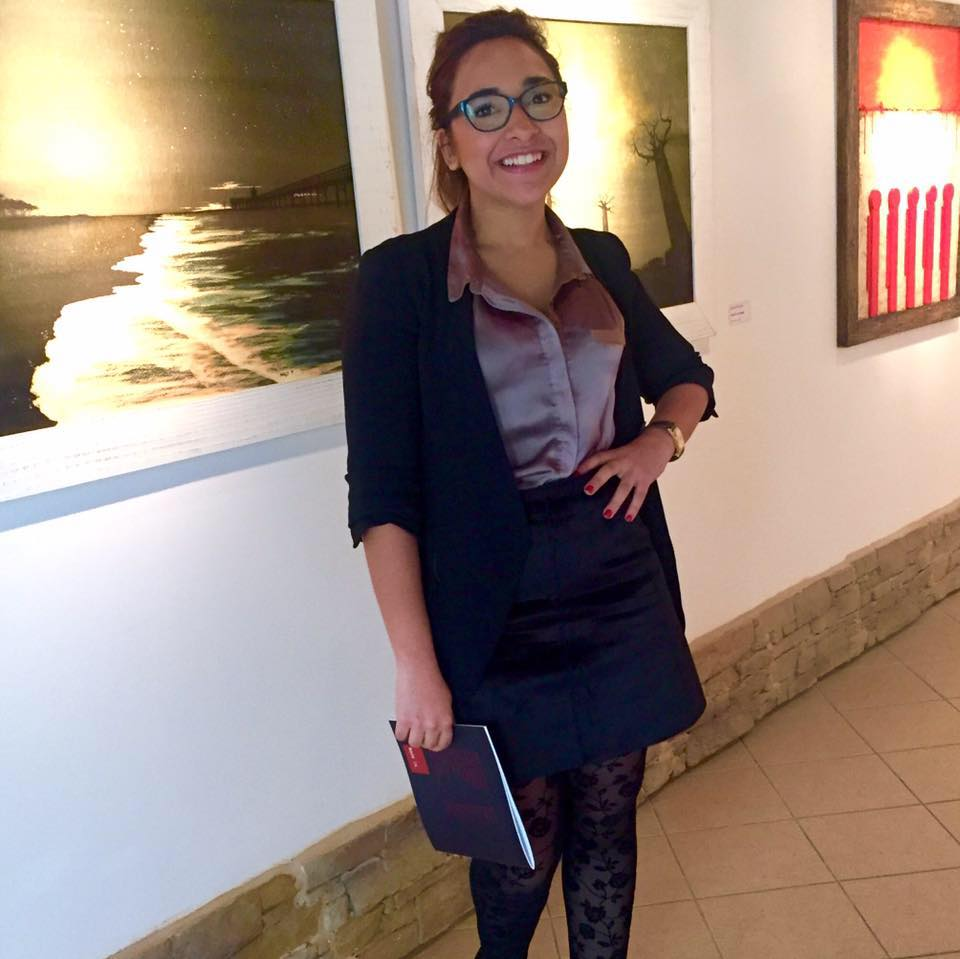 Enas ELKorashy - Collaborator    Italian- Egyptian curator and painter, has her own boutique art gallery that host art work for talented local venetian artists, ELKorashy partners with filmmakers, writers, painters, performance artists on a monthly basis and participates with    biennale  de venezia